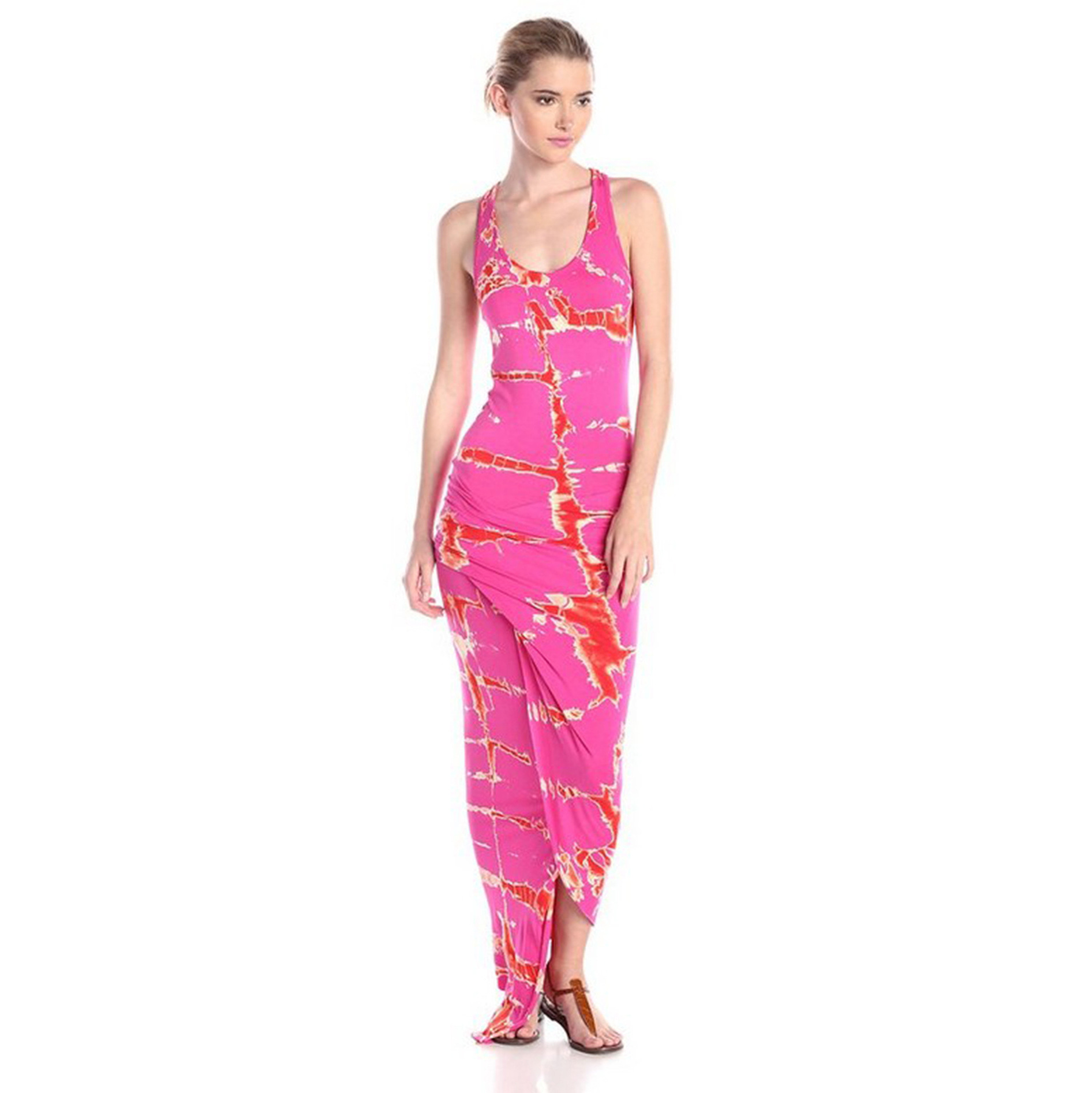 Sexy Maxi Dress <font><b>2019</b></font> Robe Longue Femme Beach Tunic Vestido Dresses Hot <font><b>Mujer</b></font> <font><b>Verano</b></font> <font><b>Largo</b></font> Women Clothing <font><b>Vestidos</b></font> image