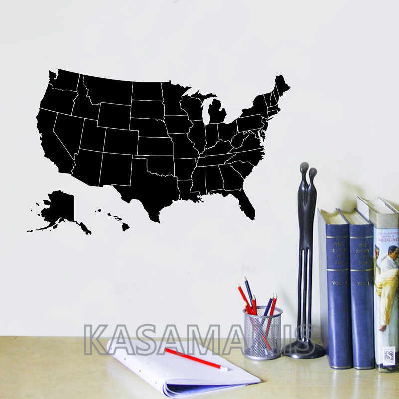 Detail Feedback Questions About United States Of America Map Wall