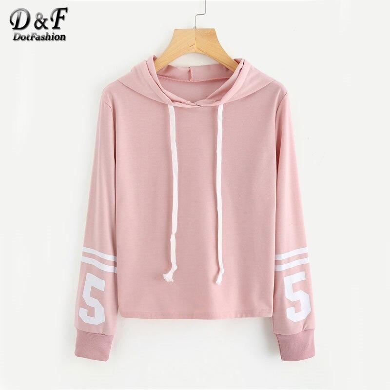 pink planet print varsity striped hoodie - 800×800