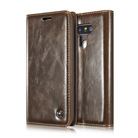 Caseme Vintage Leather Flip Cases For LG G6 Phone Bags Mobile Phone Case Protective Wallet Phone