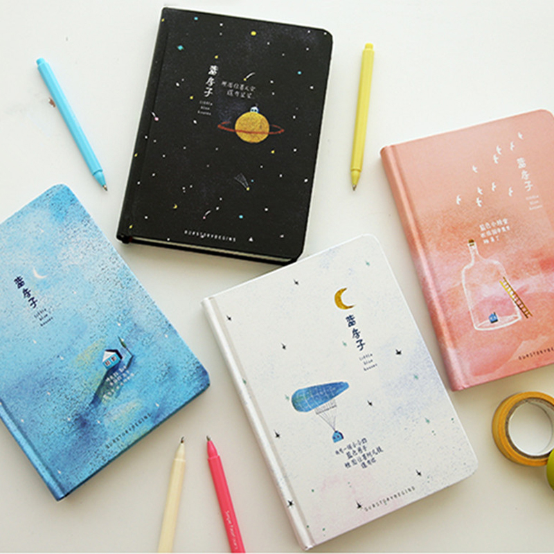 Korean Creative A5 Paper Notebook Color Pages Cute Hardcover Diary Planner Note Book School Office Stationery SuppliesKorean Creative A5 Paper Notebook Color Pages Cute Hardcover Diary Planner Note Book School Office Stationery Supplies