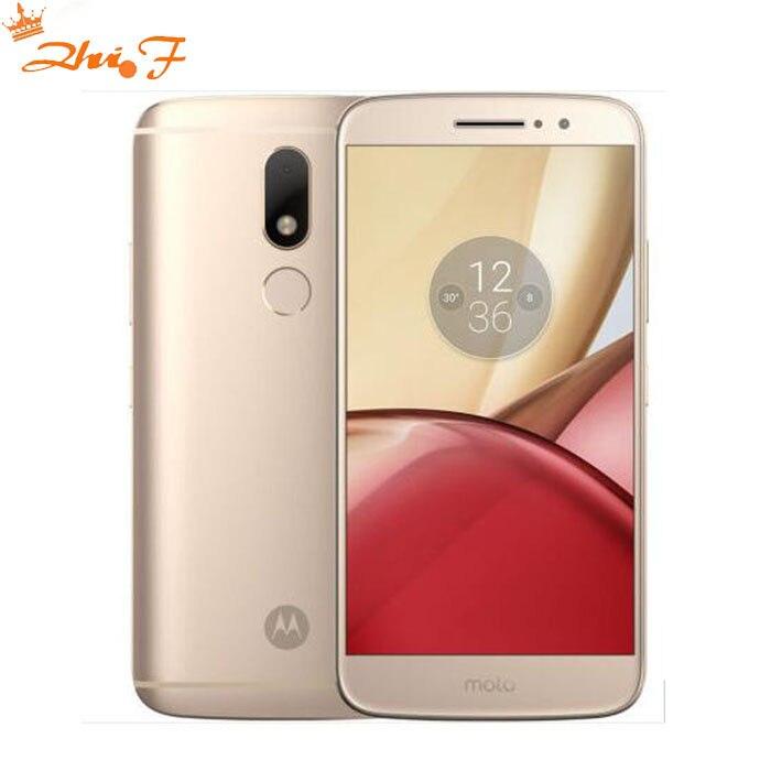 Origina new Motorola Moto M XT1662 Mobile phone 4G RAM 32G ROM Octa core Dual SIM 4G LTE 5.5'' 16.0MP Fingerprint 3050mAh