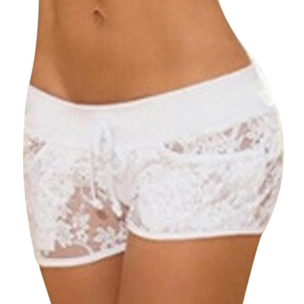 New Arrive Women Panties Sexy Lace Lingerie Underwear Ladies Boyshort Women Sexy Panties Color Solid Panty Knickers F3