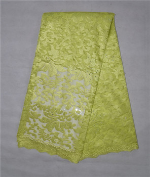 Free Shipping  African embroidered african tulle lace French net lace fabric nigerian wedding african lace 5Y/Lot 16 10QW
