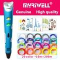 myriwell 3d pen 3d pens,1.75mmABS/PLA Filament,3 d pen3d model,Creative3d printing pen,Best Gift for Kids DIY creative,pen-3d