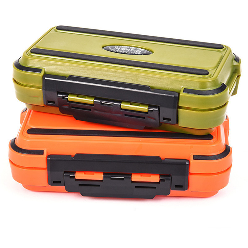 Large 24 Compartments Waterproof Fishing Box Storage Case Double Side Sea Boat Distance Carp Fly Fishing Tackle Accessories Gear(China)