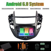 Android 6.0 Octa-core CAR DVD PLAYER for CHEVROLET TRAX 2013 AUTO Radio RDS STEREO WIFI 2G RAM 32GB Inand Flash
