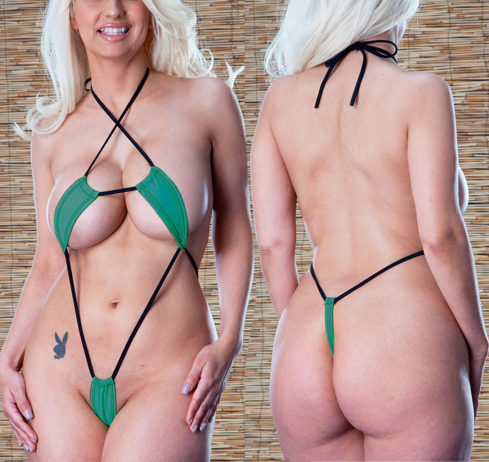 2018 <font><b>Sexy</b></font> <font><b>Mini</b></font> <font><b>Micro</b></font> <font><b>Bikini</b></font> Set Beach Wild Swimming Lingeries Costumes Sex Teeny Swimwear Female <font><b>Extreme</b></font> Women <font><b>G</b></font>-<font><b>String</b></font> Swimsuit image