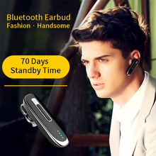 YMY Earphones Headphones Handsfree Bluetooth Headset Ear Hook Cordless Headphone With Mic for Car Wireless Earbud
