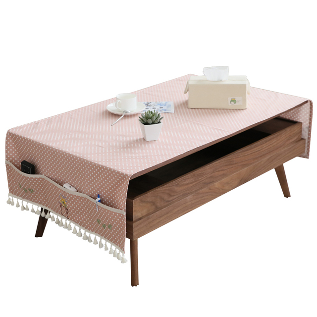 € 17.58 |Table basse nappe tissu lin quelques chiffon rectangulaire salon  pastorale tapis de café pad meuble TV dans Nappes de Maison & Jardin sur ...