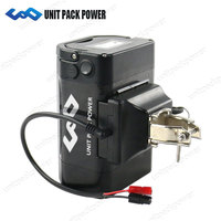 UPP Rechargeable 36V 14Ah E Bike Seat Post Lithium Ion Battery 36V with Samsung Cell for 500W 350W 250W Electric Bike