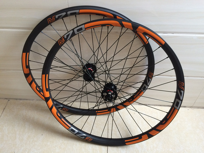 Ultra-light 29er 35mm Carbon MTB Wheels for All Mountain (AM), 28H, Tubeless Compatible 27.5er MTB wheels light bicycle roda mtb 29 carbon rear wheels