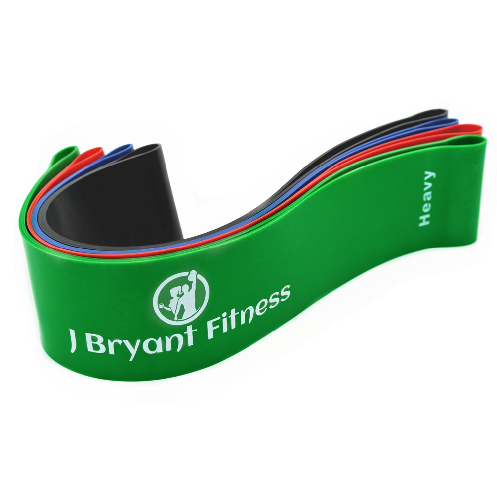 Exercise Bands Loops: Resistance Band Set Latex Gym Strength Training Rubber