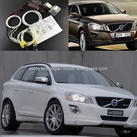 HochiTech Ccfl Angel Eyes Kit White 6000k Ccfl Halo Rings Headlight For Volvo XC60 S60 2009