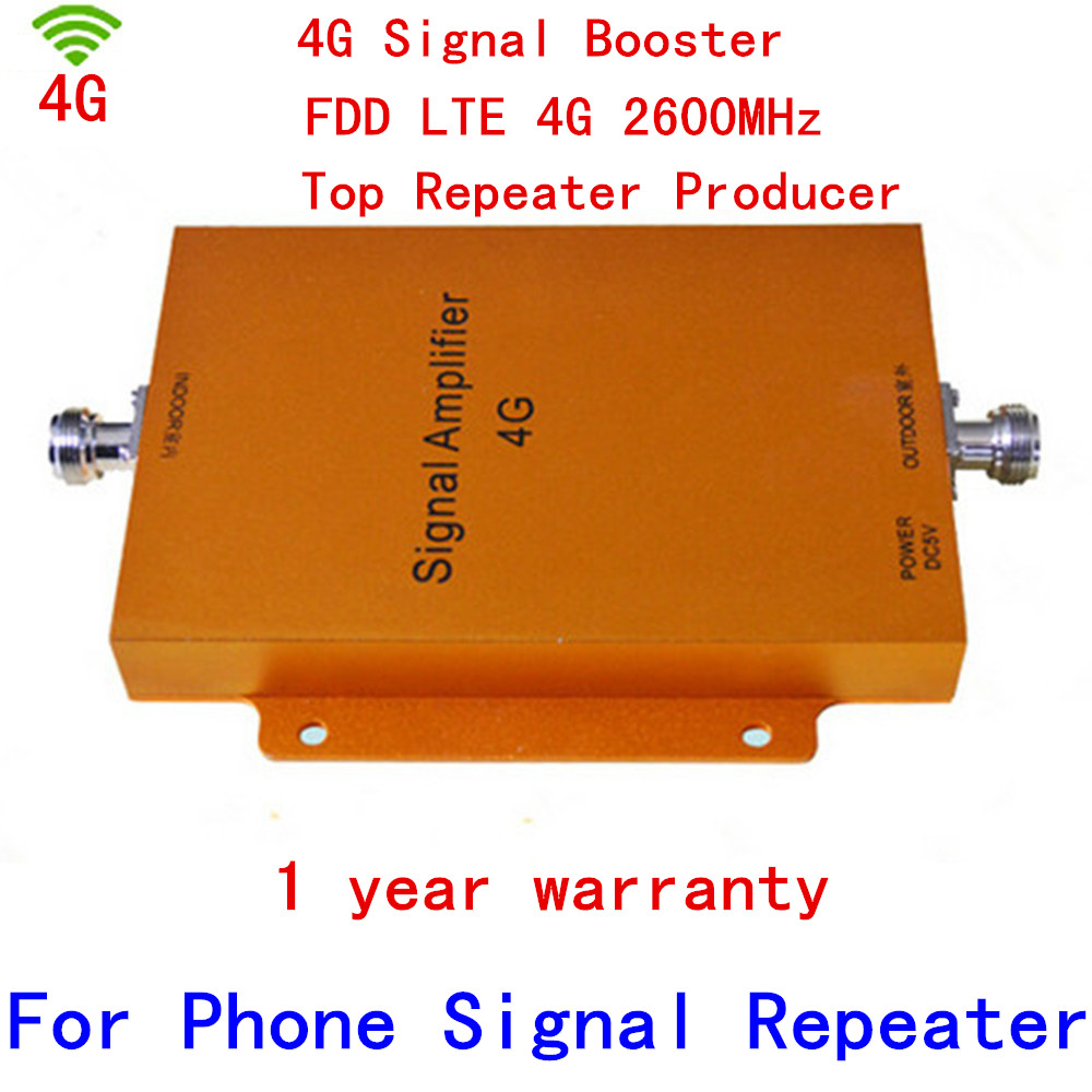 Nouveau 4G répéteur 65dbi LTE booster FDD LTE répéteur 4G signal booster 4G 2500-2570 mhz 2620-2690 mhz booster LTE 4G booster
