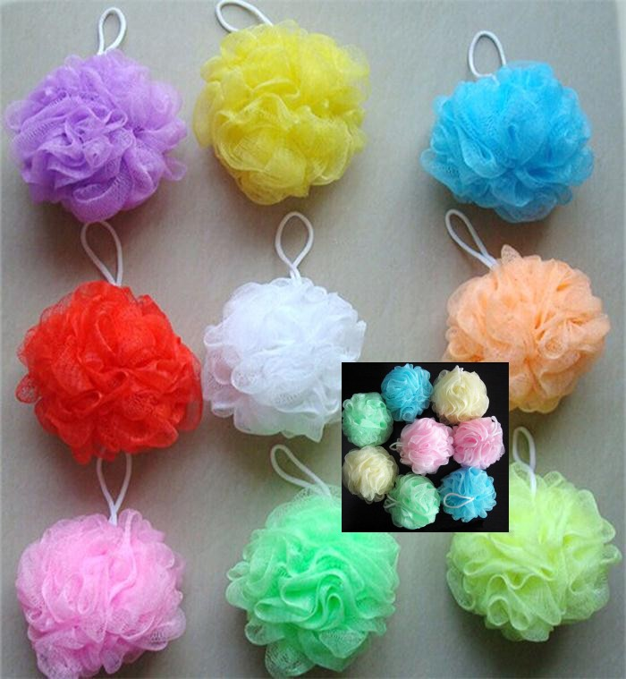 2019 New Rich Bubbles Hygienic Environmental Bath Ball Tubs Scrubber Shower Body Cleaning Mesh Shower Wash Nylon Drop Shipping