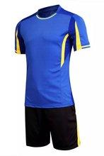 New Arrival Soccer Jersey Set Men High qualition Football Training Suit Breathable Short Sleeve Running Set