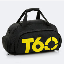 Large-capacity Portable Diagonal Double Backpack Multifunctional Three-use Package T90 Fitness Bag Outdoor Sports Basketball