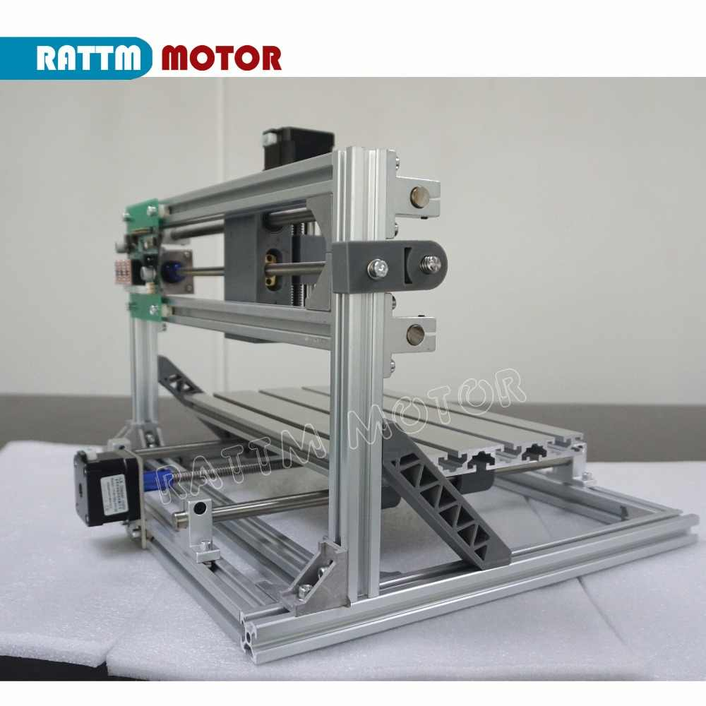 DE statek Mini laserowa maszyna grawerująca CNC 3018 grawer laserowy DIY Hobby narzędzia tnące ER11 GRBL do drewna PCB pcv Mini CNC Router