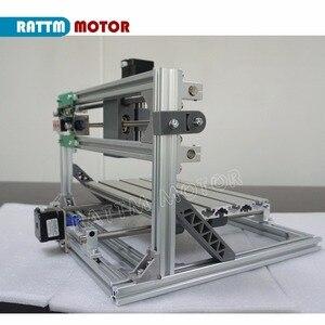 Image 5 - De ship mini máquina de gravação a laser, cnc 3018 gravador laser diy hobby, ferramentas de corte er11 grbl para madeira, pcb pvc mini roteador cnc, mini roteador cnc