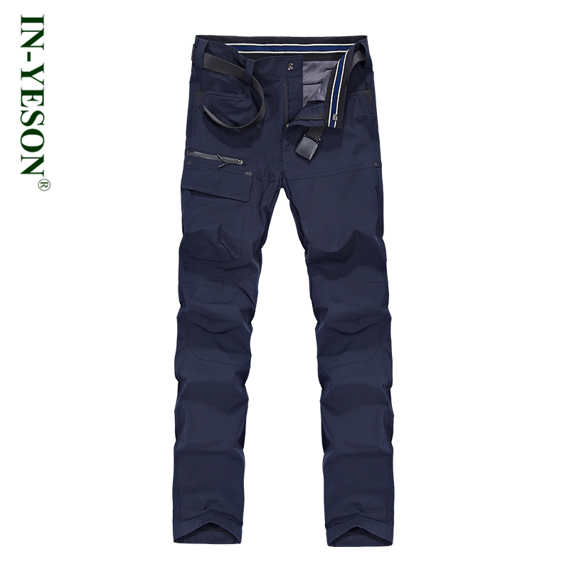 Camping & Hiking Pants Men Autumn Winter Softshell Outdoor Waterproof Windproof Pants Climbing Trekking Quick Dry Trousers Men koraman men thick winter warm fleece softshell pants fishing camping hiking climbing skiing trousers waterproof windproof 229