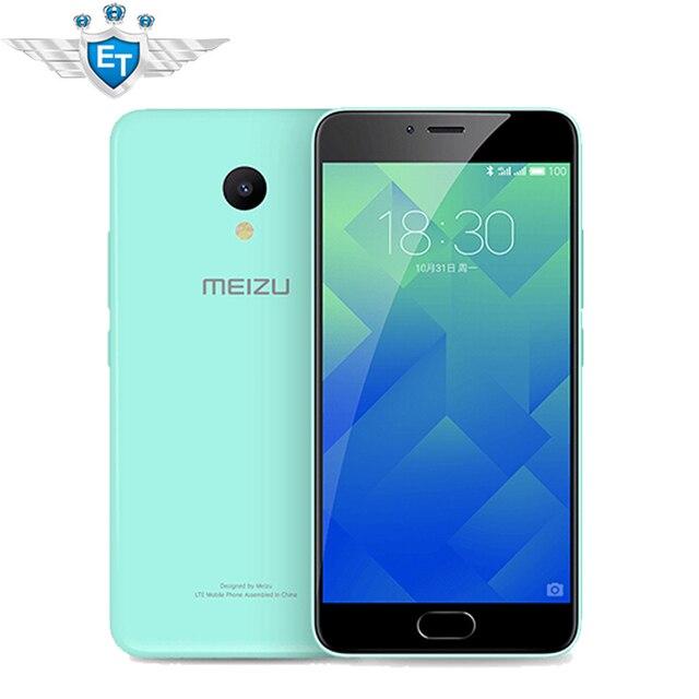 Оригинальный Meizu Meilan 5 5.2 Дюймов Сотовый Телефон MTK6750 Octa Core 13MP 3 ГБ RAM 32 ГБ ROM mTouch2.1 Отпечатков Пальцев