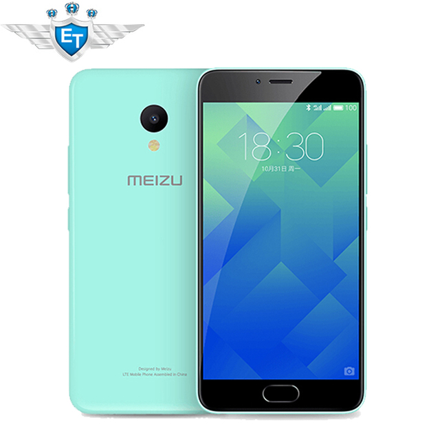 Original Meizu M5 5.2 Inch Cell Phone MTK6750 Octa Core 13MP 3GB RAM 32GB ROM mTouch2.1 Fingerprint Meilan 5