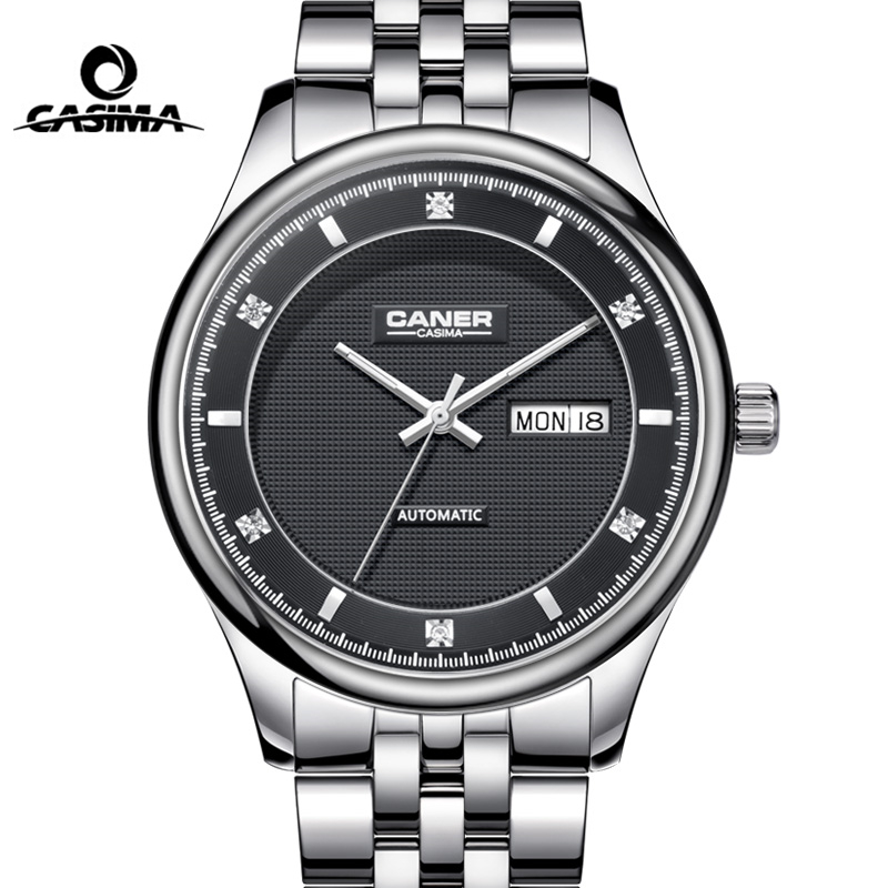 CASIMA Brand Week Date Mechanical Watches Men Sapphire Crystal Business Automatic Wrist Watch Clock saat Relogio Masculino casima brand week date mechanical watch men sapphire crystal business automatic wrist watch waterproof clock relogio masculino
