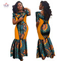 Bodycon Plus Size  african dresses for women Lace dresses Brand Custom Clothing Africa Wax Dashiki Slim Cut Sexy Dress BRW WY694