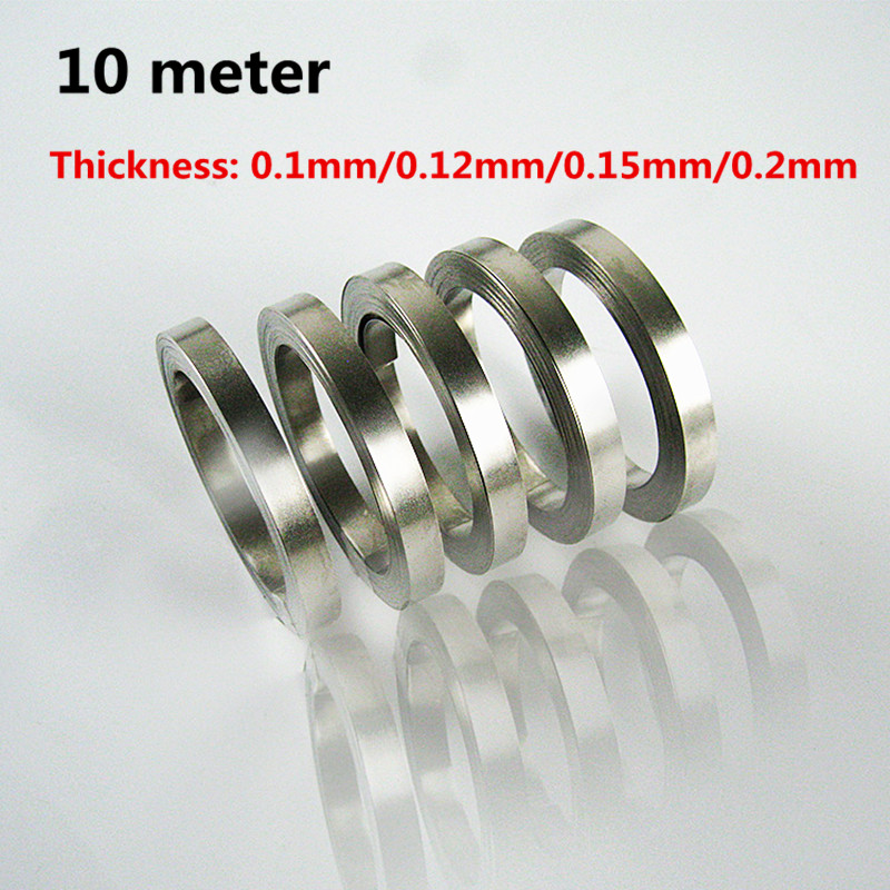 1 Roll 10 Meter 18650 Lithium Ion Battery Nickel Plate Steel With Battery Spot Welding Nickel Plated Battery Connector