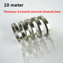 1 Roll 10 meter 18650 lithium ion battery nickel plate steel with battery spot welding nickel plated Battery Connector цена