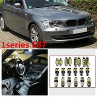 12 X Error Free White Interior LED Light Package Kit For BMW 1 Series E87 Accessories