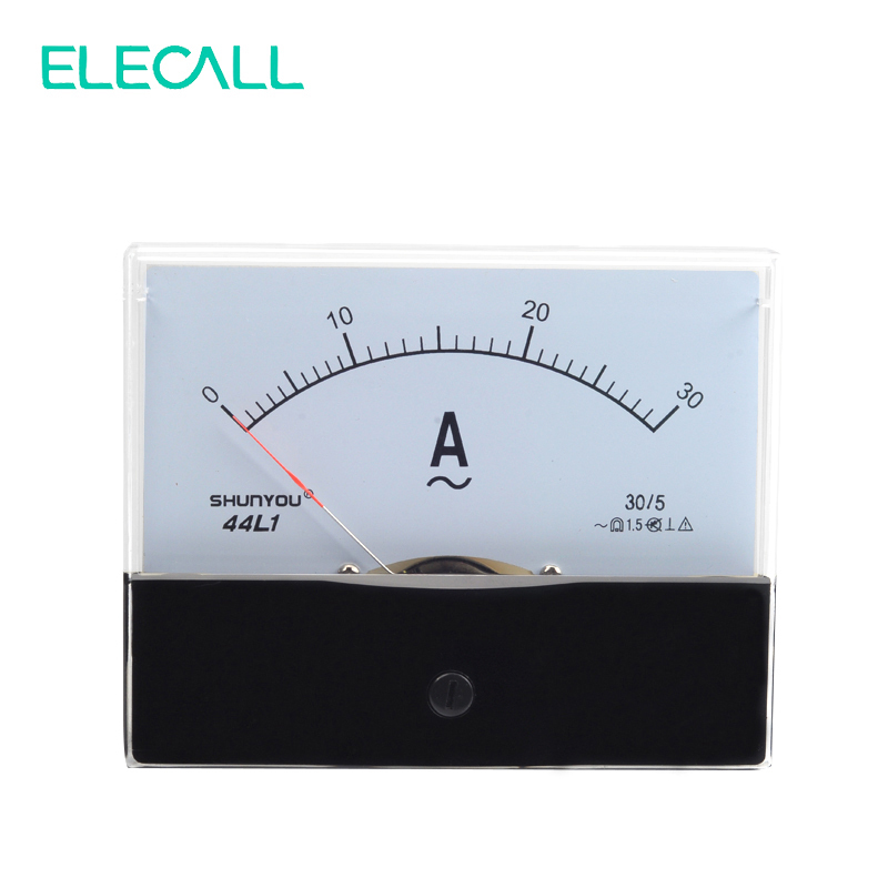 AC 0-30 A Analog Current Panel Meter