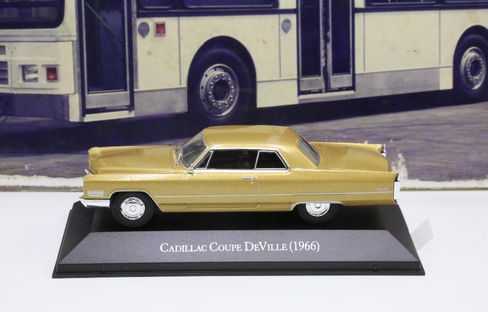 IXO 1:43 Cadillac coupe Deville 1966 Die Cast Model special price