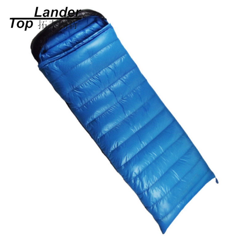 95% Goose Down Sleeping Bag for Cold Weather Filling1800g-3000g Outdoor Camping Envelope Winter Camping Tent Face Sleeping Bags filling 3000g outdoor camping winter sleeping bag goose down splicing mummy ultra light goose down sleeping bag