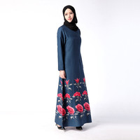 Traditional Arabic Clothing Kaftan Islamique Musulman Abaya Femmes Robe Dubai Clothes Abaya Designs Kids Hijab Ropa