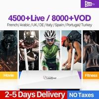 Leadcool Arabic France IPTV Receiver Android Box Rk3229 Quad Core WIFI Smart IP TV Box Leadcool