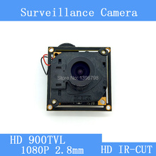 HD Color CMOS 900TVL CCTV Camera Module 1080P 2.8mm Lens + PAL or NTSC Optional surveillance cameras IR-CUT dual-filter switch