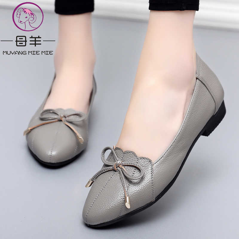 MUYANG MIE MIE Women Shoes 2019 Genuine