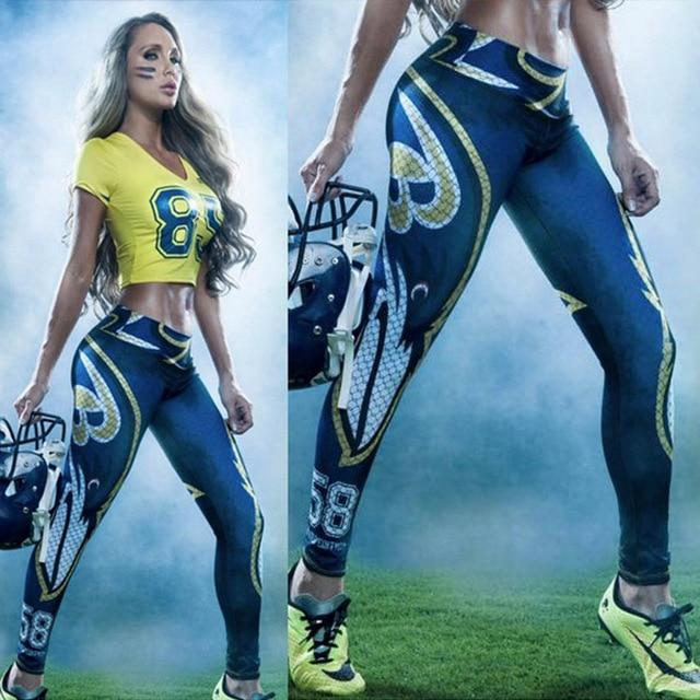 58 печать 3D брюки сексуальные горячие тела батт лифт длинные трусы тренировки дышащий средний талия леггинсы