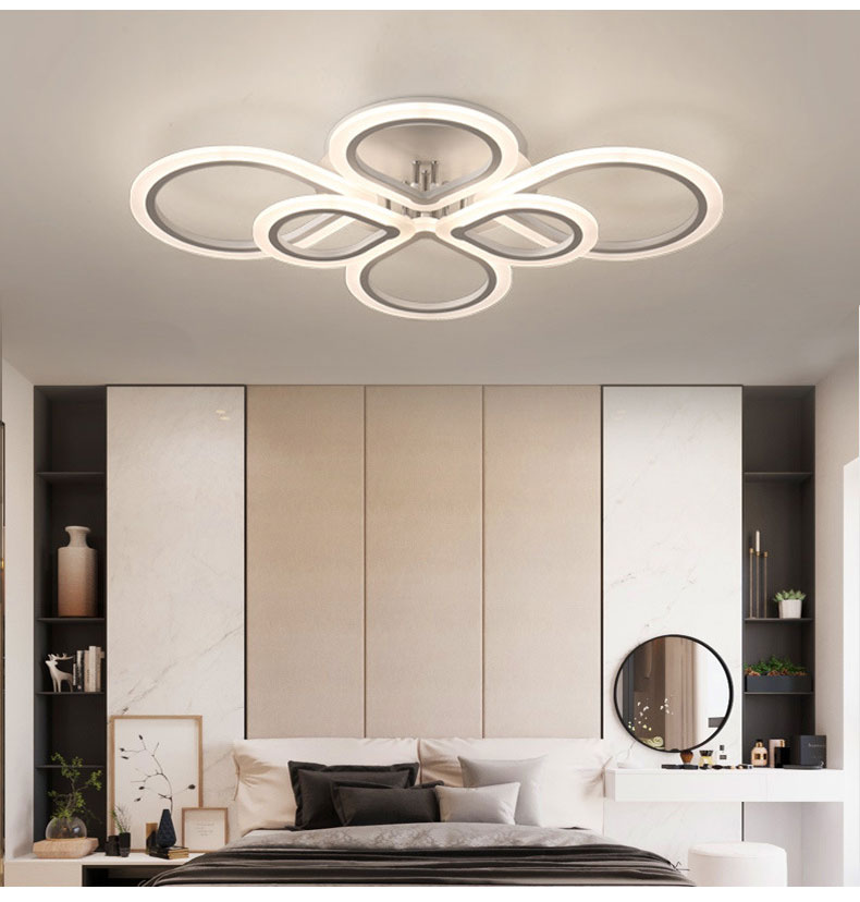 HTB13cFCelGw3KVjSZFwq6zQ2FXaf Lamps Plus Chandeliers | Crystal Ceiling Lights | Rings Modern Led Ceiling Light For Living room Bedroom Luminaires Black White Acrylic Surface Mounted Chandelier Ceiling Lamps 001