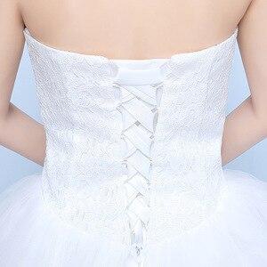 Image 5 - Gelinlik 2019 Robe De Mariage prenses Bling Bling lüks dantel beyaz topu cüppe gelinlikler Vestido De Noiva