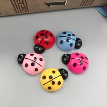 Free shipping!Resin cute ladybug.Resin Flatback Cabochon for phone decoration ,DIY 16*20mm