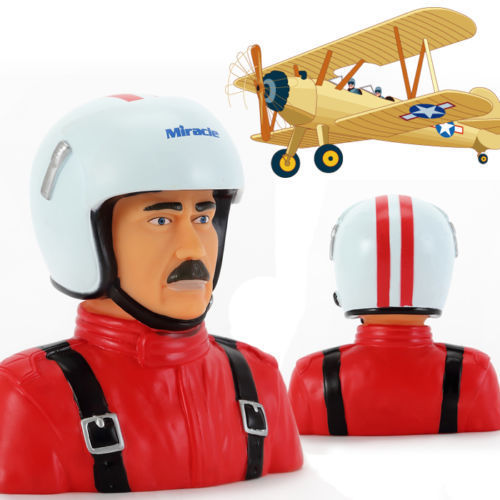 Miracle Hobby Accessories 1/4 Scale Pilot Toy (Sam) for RC Plane / Aircraft Red ifp3003 p 3c orion inflight anti submarine aircraft jmsdf 1 200 5004 commercial jetliners plane model hobby