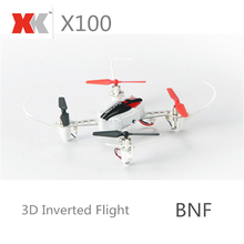XK-X100 3D Mode Quadcopter FUTABA S-FHSS Drone 4CH LED RC Helicopter