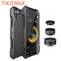Metal Silicone Shockproof Armor Phone Cases For Iphone X 8 7 6 6s Plus Case With
