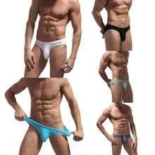 Low Waist Sexy Men Underwear Briefs Gay Penis Pouch Wonderjock Men Bik