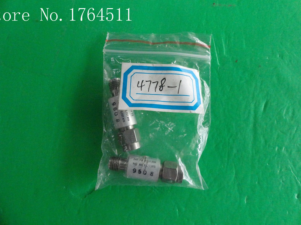 [BELLA] NARDA 4778-1 DC-12.4GHz Att:1dB P:2W SMA Coaxial Fixed Attenuator  --2PCS/LOT