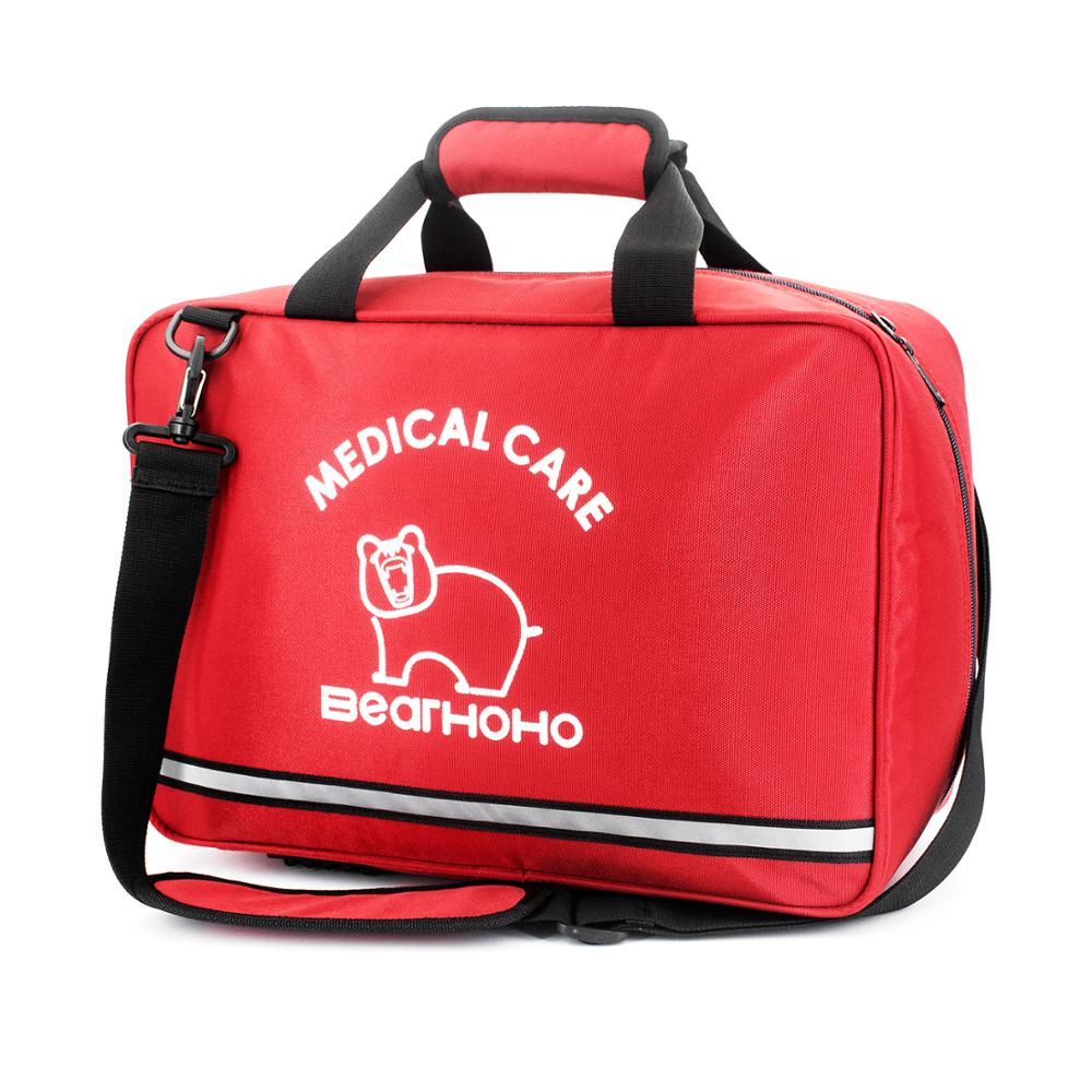 Large Size Empty First Aid Bag Water-Resistant Medical Doctor Visit Bag Emergency First Responder Trauma Bag