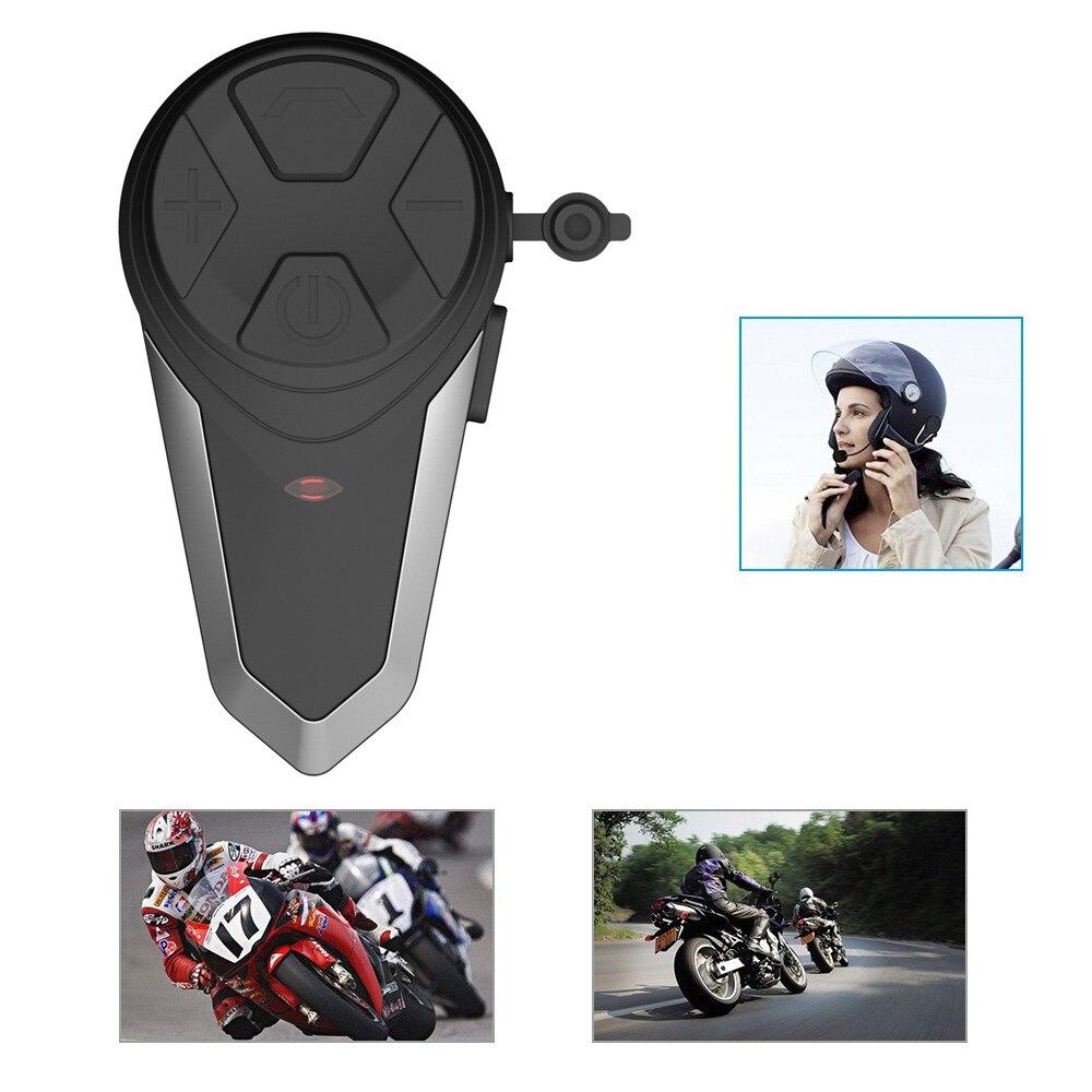 Motorcycle Helmet Walkie-talkie BT-S3 1km Wireless Bluetooth Headset Charging Intercom Waterproof Sunscreen Double Walkie-talkie